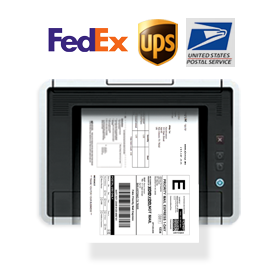 Print Shipping Labels & Packing Slip, Scan Barcodes and Ship out by Using Shipping Carriers Automatic Tracking Number to your Website and Marketplaces Once Your Shipment is Completed